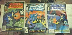 THE PHANTOM STRANGER # 1 2 3 1987 DC COMICS MINI SERIES