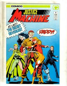 Lot of 11 Comics Justice Machine #9 13 14 15 16 17 18 20, Elementals #1 2 3 JF20