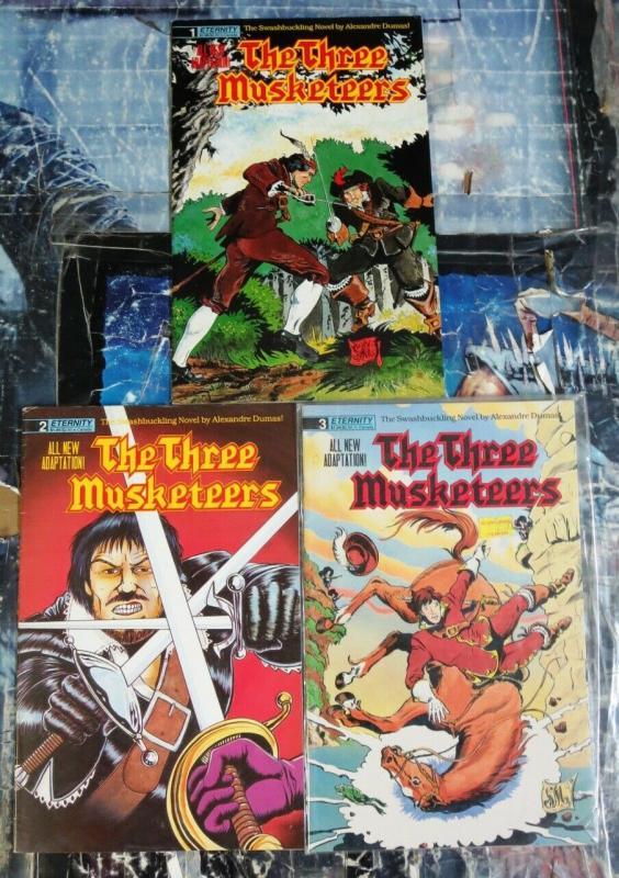 THREE MUSKETEERS (1988 ETERNITY) 1-3 Dumas Classic