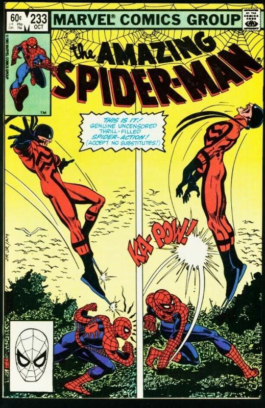 AMAZING SPIDER-MAN #233-1982-MARVEL VF