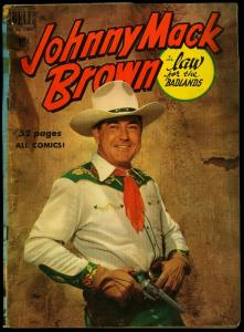JOHNNY MACK BROWN-DELL FOUR COLOR #269 1950-FIRST ISSUE G-