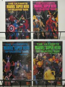 ULTIMATE MARVEL SUPER HERO TOY COLLECTORS GUIDE 1-4