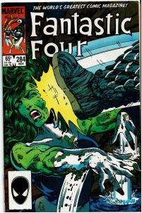Fantastic Four #284, 6.5 or better - vs Psycho Man