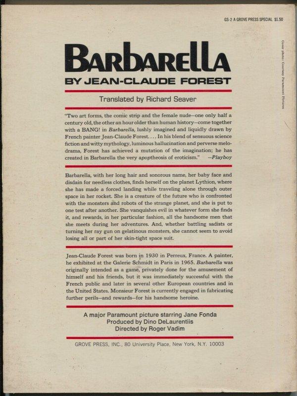 Barbarella #1 1968-1st issue-Jean-Claude Forest-Jane Fonda-FN