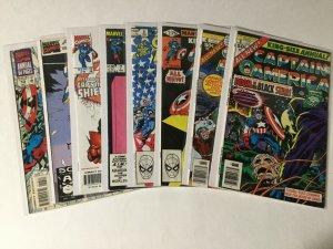 Captain America Annual 3-7 9 10 13 Lot Very Good/fine-fine/very Fine Marvel