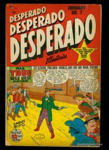 Desperado #7 FA/GD 1.5