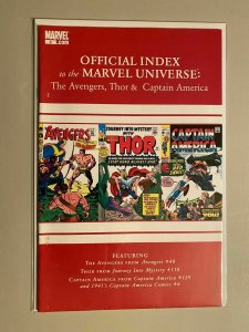 Official Index to the Marvel Universe Avengers Thor & Captain America #2 6.0 FN