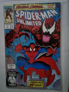 SPIDER-MAN  UNLIMITED #1 NM 1ST APPEARANCE SHRIEK