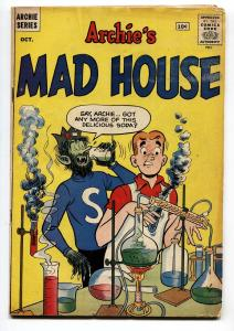 ARCHIE'S MAD HOUSE #15 comic book 1961-JUGHEAD HORROR COVER-VG