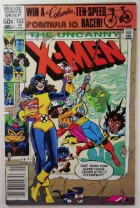 The Uncanny X-Men #153 - Colossus First appearance - Newsstand - NM - Marvel '81
