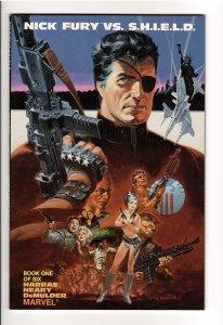 NICK FURY vs.S.H.I.E.L.D.#1-6 NM(1988) 4.75 cover price @ 3.00ea.Steranko cv