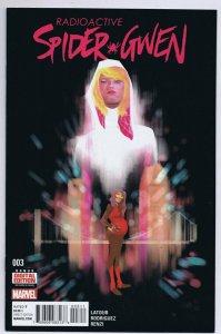 Spider-Gwen Vol 2 #3 1st Print 2016 Marvel Comics Robbi Rodriguez Cover