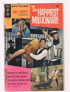 Walt Disney Presents The Happiest Millionaire VG Gold Key Comic Book DE1