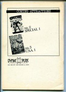 DAREDEVIL BATTLES HITLER #1 REPRINT #1970'S-DYNA PUBS-SILVER STREAK-THE CLAW-vf