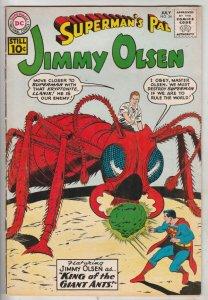 Jimmy Olsen, Superman's Pal  #54 (Jul-61) VF High-Grade Jimmy Olsen