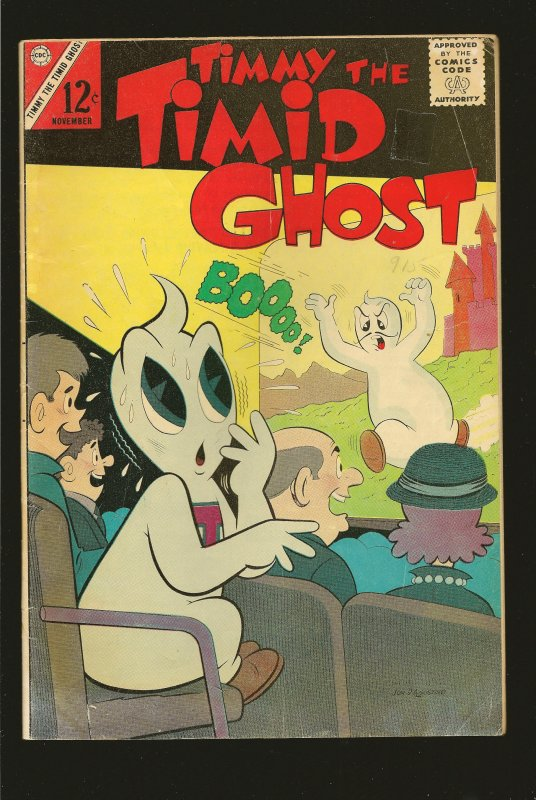 Charlton Comics Timmy The Timid Ghost V 1 N 41 Nov 1963 see condition issues