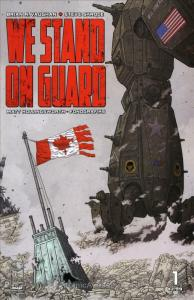We Stand On Guard #1 VF; Image   save on shipping - details inside