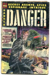 Danger #11 1953-Comic Media-Don Heck- Golden Age- Red Killers G