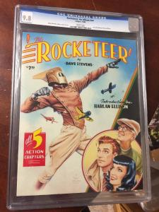 Rocketeer : An Album Graphic Novel Tpb Collects 1-5 Cgc 9.8 Only 1 In Existence