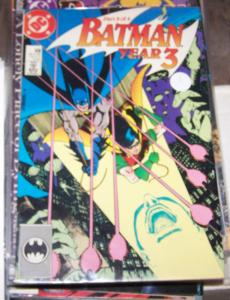 Batman #438 (Sep 1989, DC) BATMAN YEAR 3 ROBIN DICK GRAYSON ORIGIN