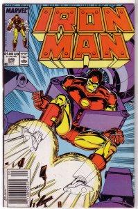 Iron Man   vol. 1  #246 FN Michelinie/Layton