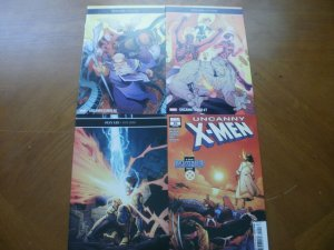 4 NEW Mint Marvel Comic: UNCANNY X-MEN (2019) #6 7 8 10 Disassembled Brisson
