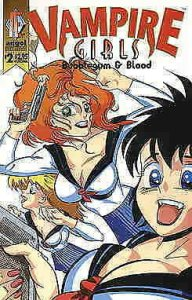 Vampire Girls: Bubble Gum And Blood #2 FN; Angel | save on shipping - details in