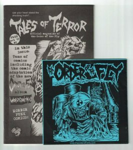 Tales of Terror #2 Official Magazine of The Order of the Fly - comic with CD