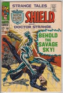 Strange Tales #165 (Feb-68) VF/NM High-Grade Nick Fury, Dr. Strange