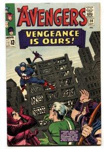AVENGERS #20 1965-CAPTAIN AMERICA-HAWKEYE-MARVEL- VF