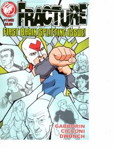 Lot Of 2 Comic Book Action Lab Fracture #1 and Dark Horse Ghost #5 MS22