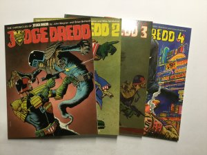 Judge Dredd 1-8 10-12 15 18 Chronicles Of Judge Dredd Magazine Lot Nm Titan