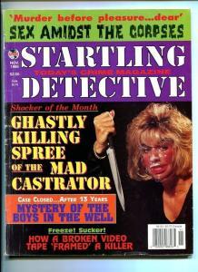 STARTLING DETECTIVE-11/1995-MURDER-KILLING SPREE-MYSTERY-FRAMED-KILLER VF