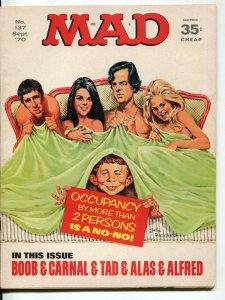 Mad-Magazine-#137-Sept-1970-Mort Drucker-Don Martin-David Berg