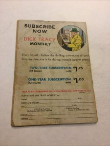 Dick Tracy Monthly 5 Gd- Good- 1.8 Dell Comics