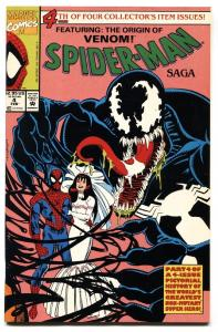 Spider-Man Saga #4-Venom story-comic book 1991-Mary Jane