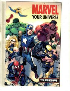 5 Comics Marvel Universe Saga Avenger 1 Agents Atlas 1 2 Aventers # 1 100AN CJ14