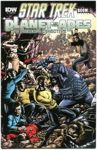 STAR TREK PLANET of the APES #1 S, NM, Damn Dirty Apes, 2014, IDW, more in store