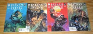 Batman/Tarzan: Claws of the Catwoman #1-4 FN rare dark horse presents variants