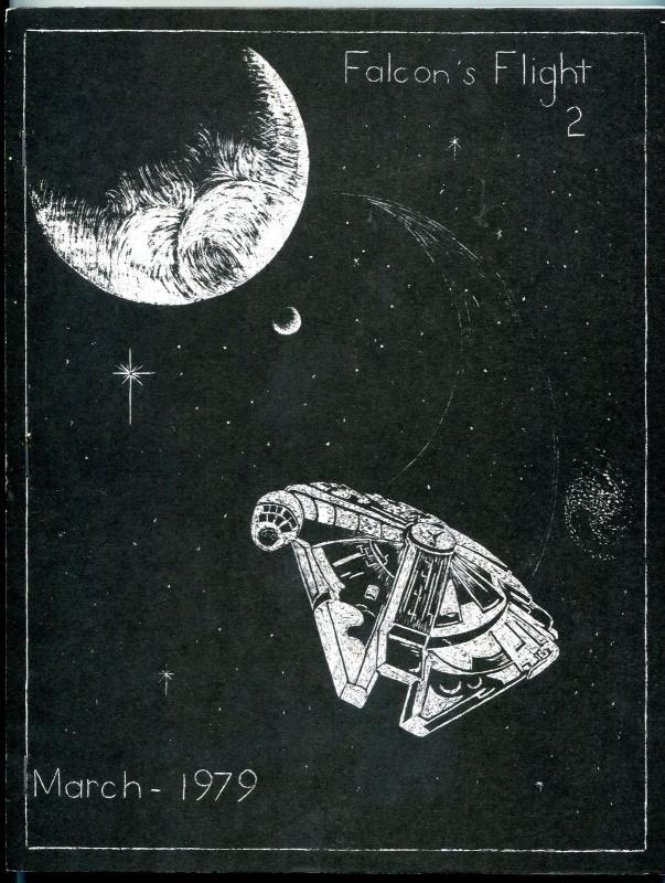 Falcon's Flight #2 1979-  Early Star Wars Fanzine Fan Fiction 116 pages