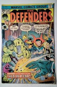 The Defenders #30 (1975) Marvel Comic Book J757