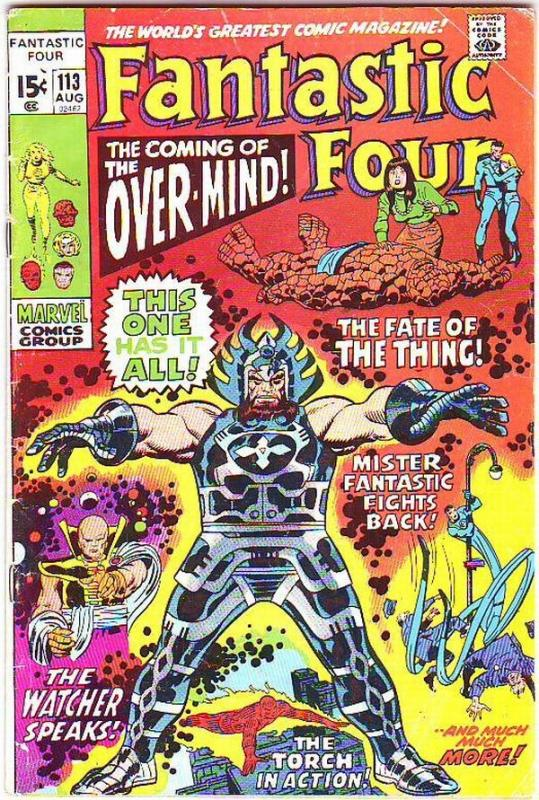 Fantastic Four #113 (Aug-71) VG+ Affordable-Grade Fantastic Four, Mr. Fantast...