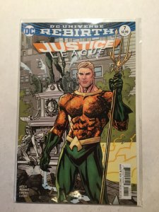 Justice League Rebirth 7 Near Mint Nm Dc Comics