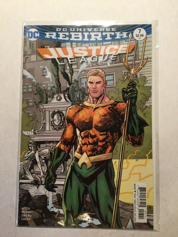 Justice League Rebirth 7 Near Mint Nm Dc Comics