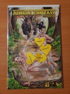 Jungle Fantasy Survivors #7 Natural Beauty Nude Variant!