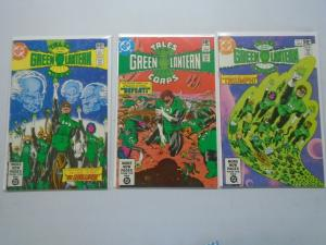 Tales of the Green Lantern Corps set #1-3 6.0/FN (1981)