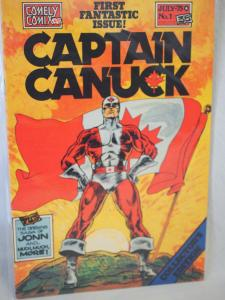 Captain Canuck #1  VF/NM Unread condition.  First Fantastic Issue!