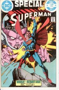 SUPERMAN SPECIAL  1 VF+  1983 COMICS BOOK