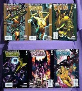 Mike Carey ULTIMATE VISION #0 - 5 Brandon Peterson Ultimates (Marvel, 2007)!