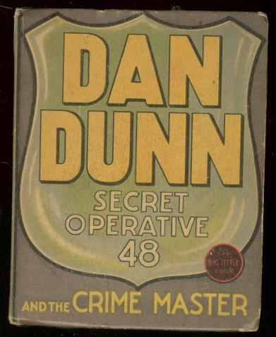 DAN DUNN SECRET OPERATIVE 48 #1171-BIG LITTLE BOOK 1937 FN